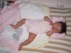 赤ちゃんの寝相