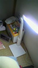LEDデスクライト ホワイト LE-H615W 最大時