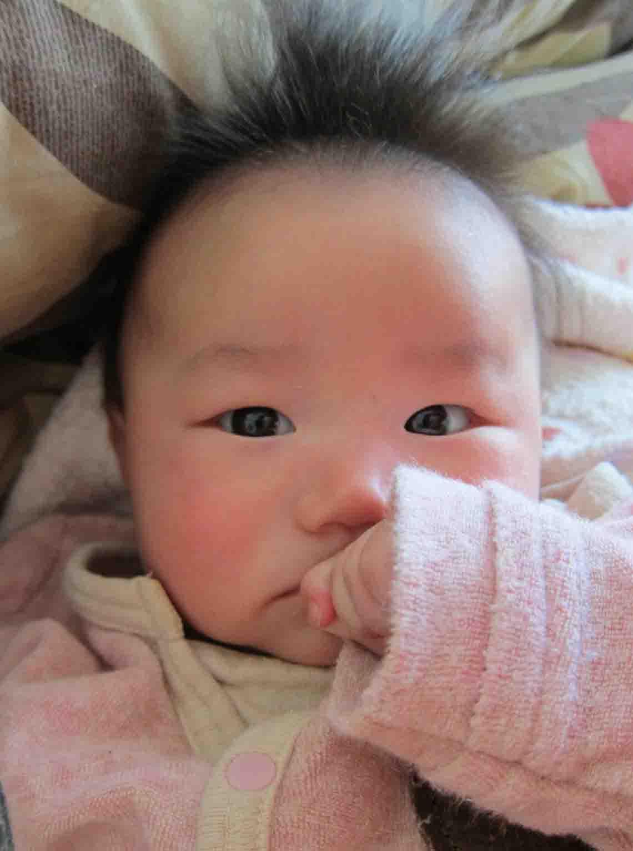 赤ちゃん 髪の毛 抜ける
